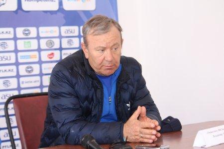 Комментарий главного тренера ФК «Окжетпес»