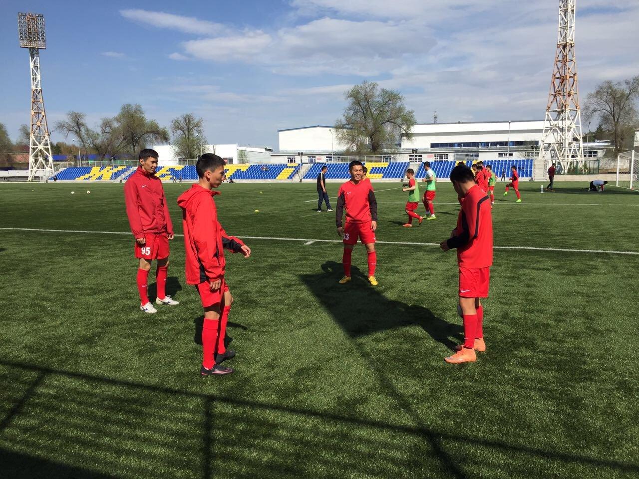 «ЖЕТИСУ U21» - «КАЙСАР U21» фоторепортаж