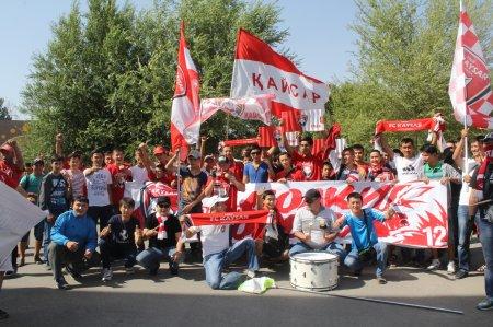 ФК «Кайсар» организует выезд в Шымкент