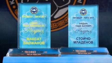 Младенов - лучший тренер марта, Байжанов - лучший игрок