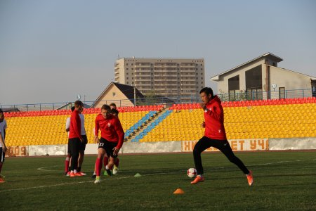 Видео обзор тренировки  команды в городе Атырау