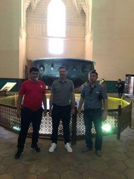 Стойчо Младенов посетил  г. Туркестан