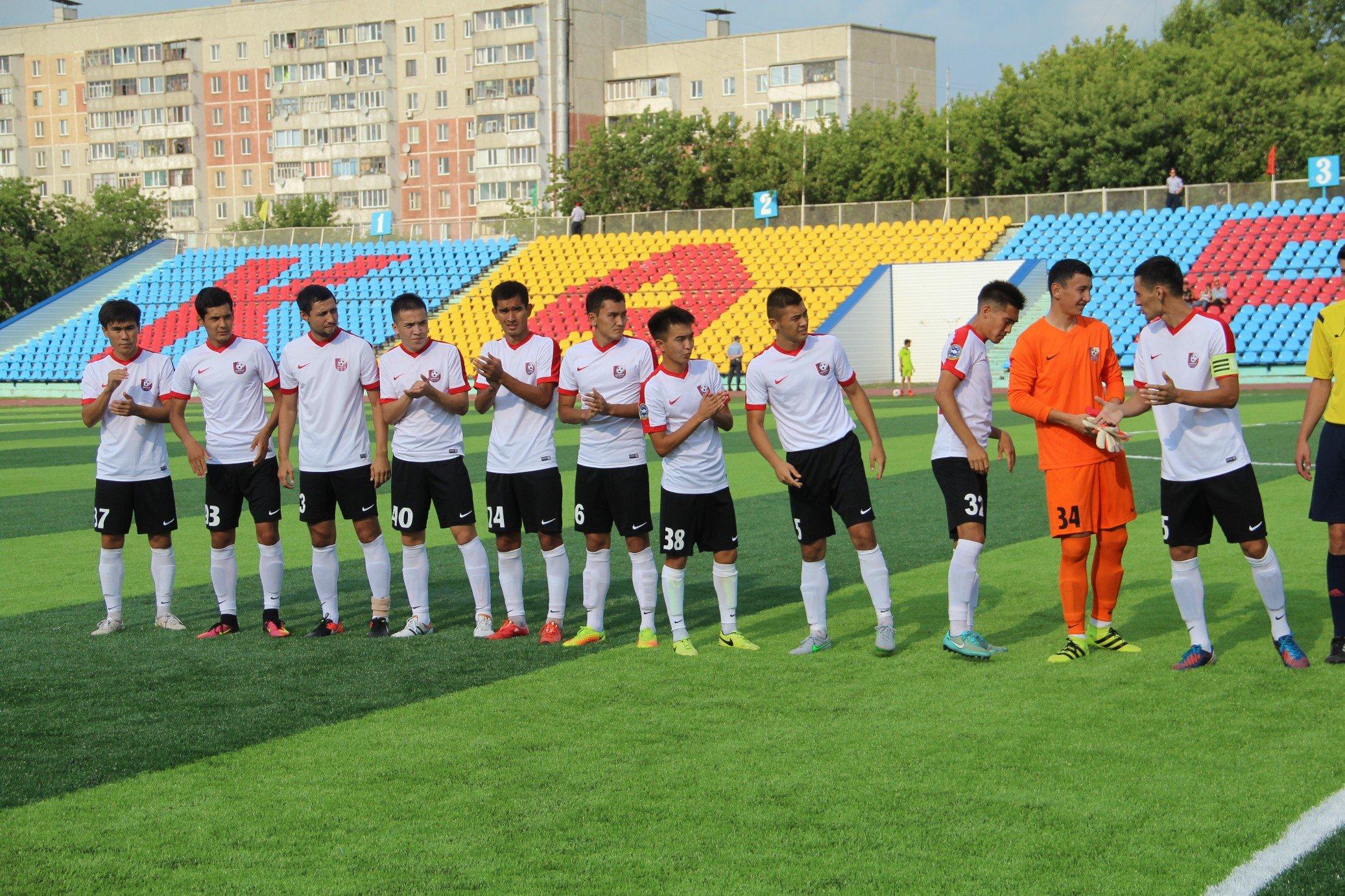 Фоторепортаж матча Кызылжар - Байконур