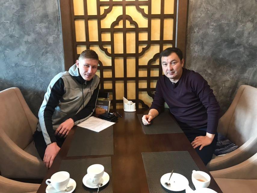 """Александр Марочкин игрок ФК """"Кайсар"""""""