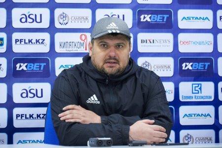 """Владимир Мазяр: """"Спасибо ребятам, эта ничья - их заслуга"""""""
