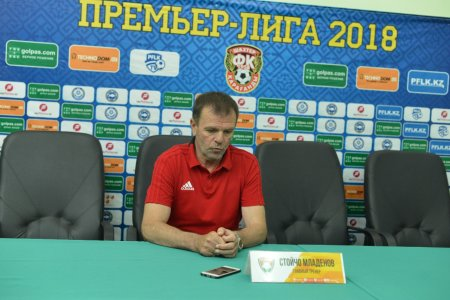 Стойчо Младенов: «Очень обидный для нас итоговый счет, ведь мы приехали за победой».