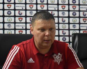 """Александр Седнев: """"Мы очень рады что нам удалось обыграть очень сильную команду"""""""