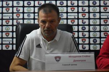 Стойчо Младенов: Мы в первом тайме имели игровое преимущество, но не воспользовались