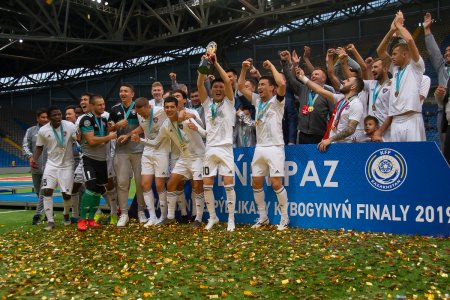 Фоторепортаж с финала кубка Казахстана