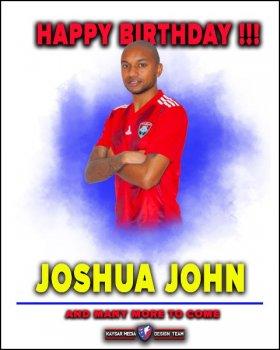 С днем рождения - Джошуа!