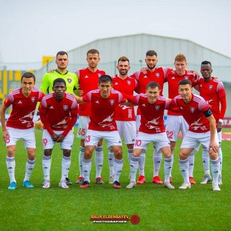 Представляем фоторепортаж с матча 14 тура КПЛ Кайсар-Шахтер (2-0)