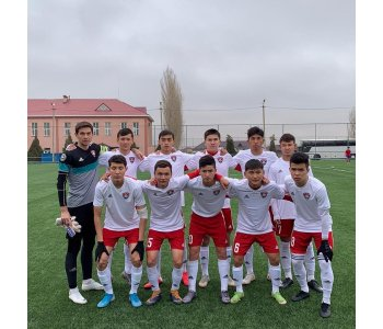В Шымкенте на чемпионате страны среди молодежи 2003 г.р. также борются  за медали юниоры футбольного центра «Кайсар».